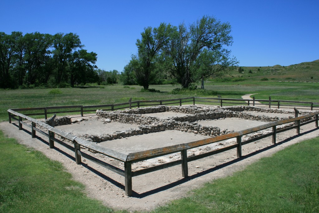 Scott County Pueblo reconstruction